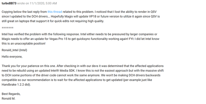 Problem with Vegas Pro 18 screenshot 3