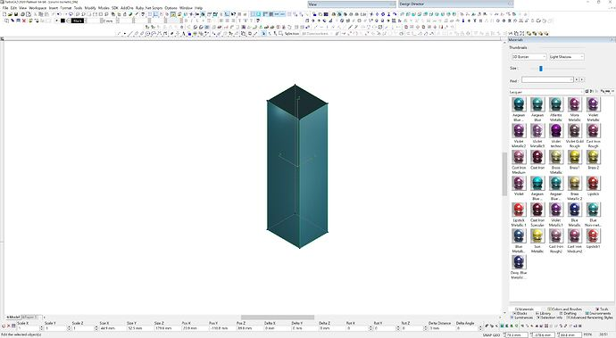 cad column 2