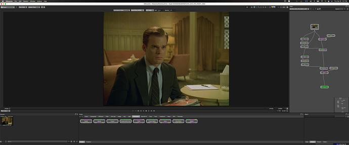 Origional footage with View Xform set to sRGB