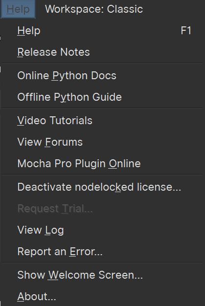 deactivate license option